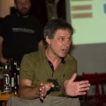 Kontroverse und interessante Diskussionen mit Roland Spranger